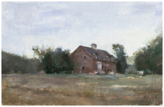 Red Barn, Berkshires, Massachusetts