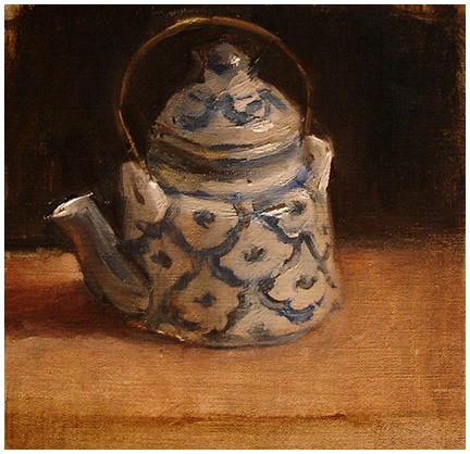 Little Pineapple Teapot