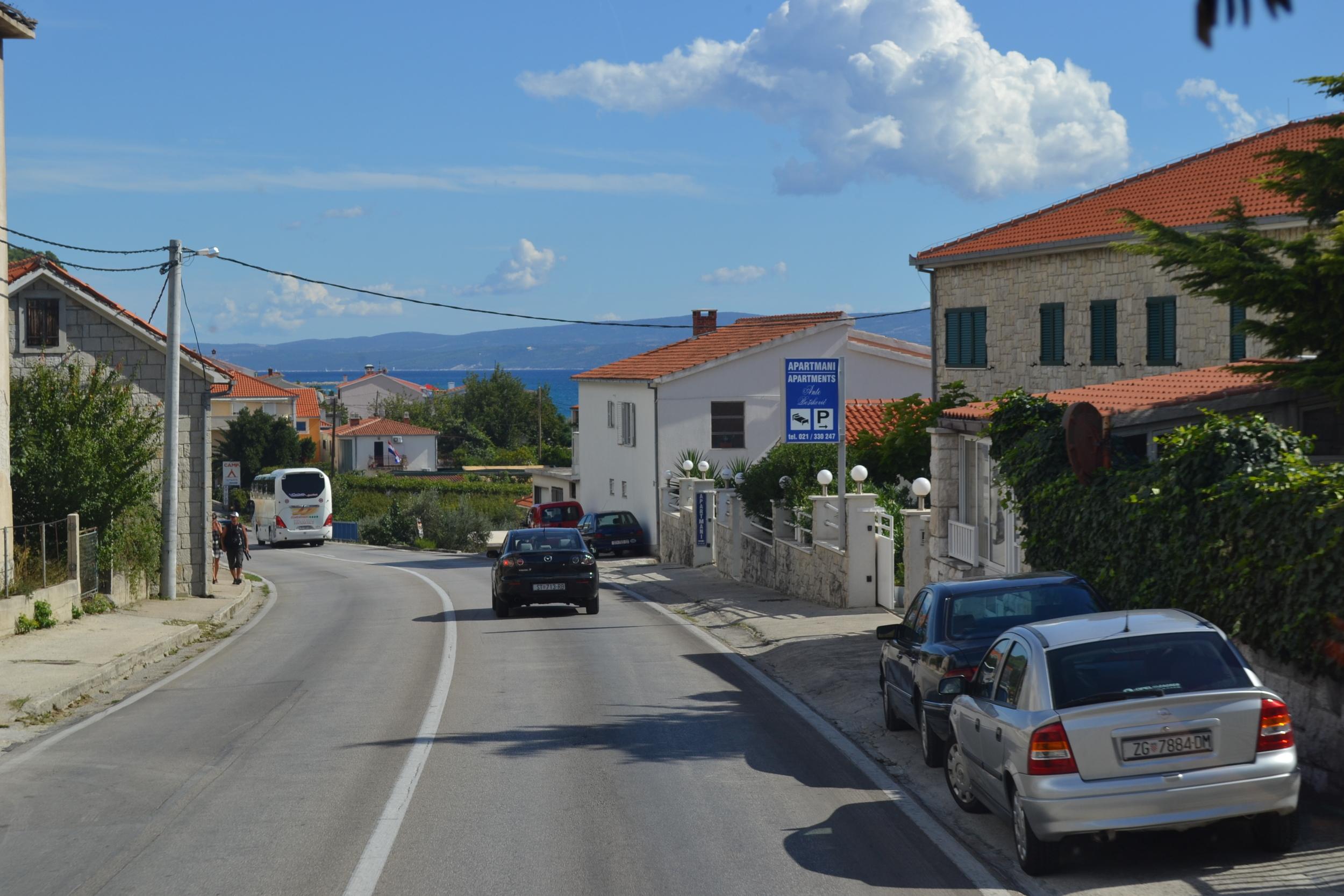 Driving in Croatia