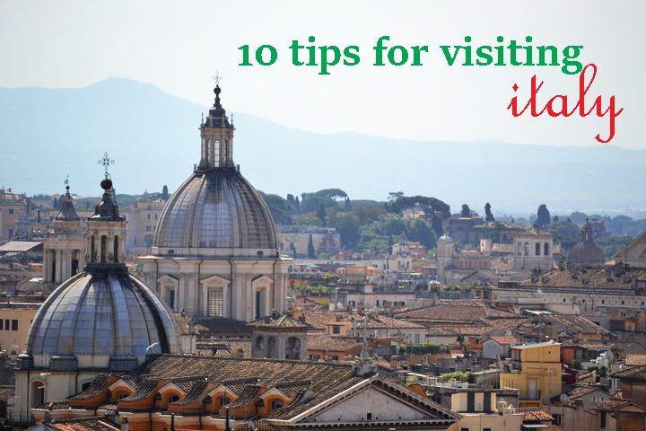 10 tips italy