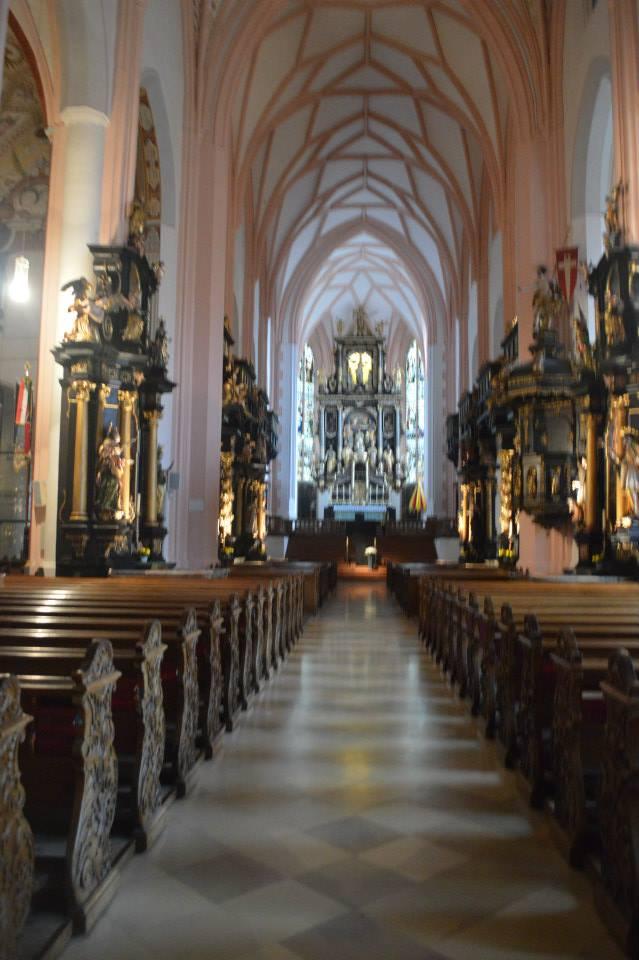 Sound of Music Wedding Church in Salzburg, Austria