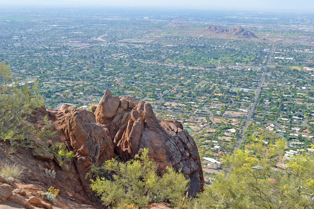 View from top of Camelback