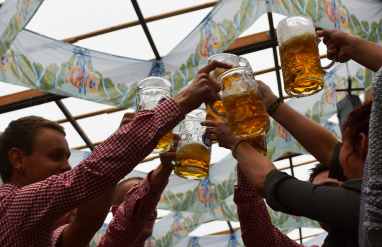 Oktoberfest - 10 Crazy, Extreme, and Magical Trips to Take when you Study Abroad in Europe! GoSeekExplore.com #europe #europetravel #studyabroad #europetraveltips