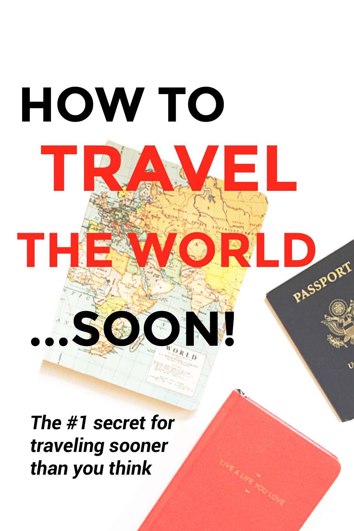 The #1 secret for traveling sooner than you think - so you don't have to wait to travel ;) Do it now!
