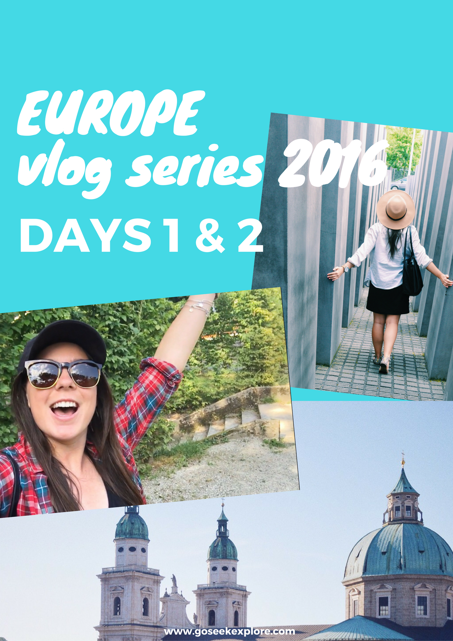 Surviving delayed flights and lost luggage; a glimpse of Vienna, Austria; and a day trip to beautiful Bratislava, Slovakia! Check out the video to see it all!
