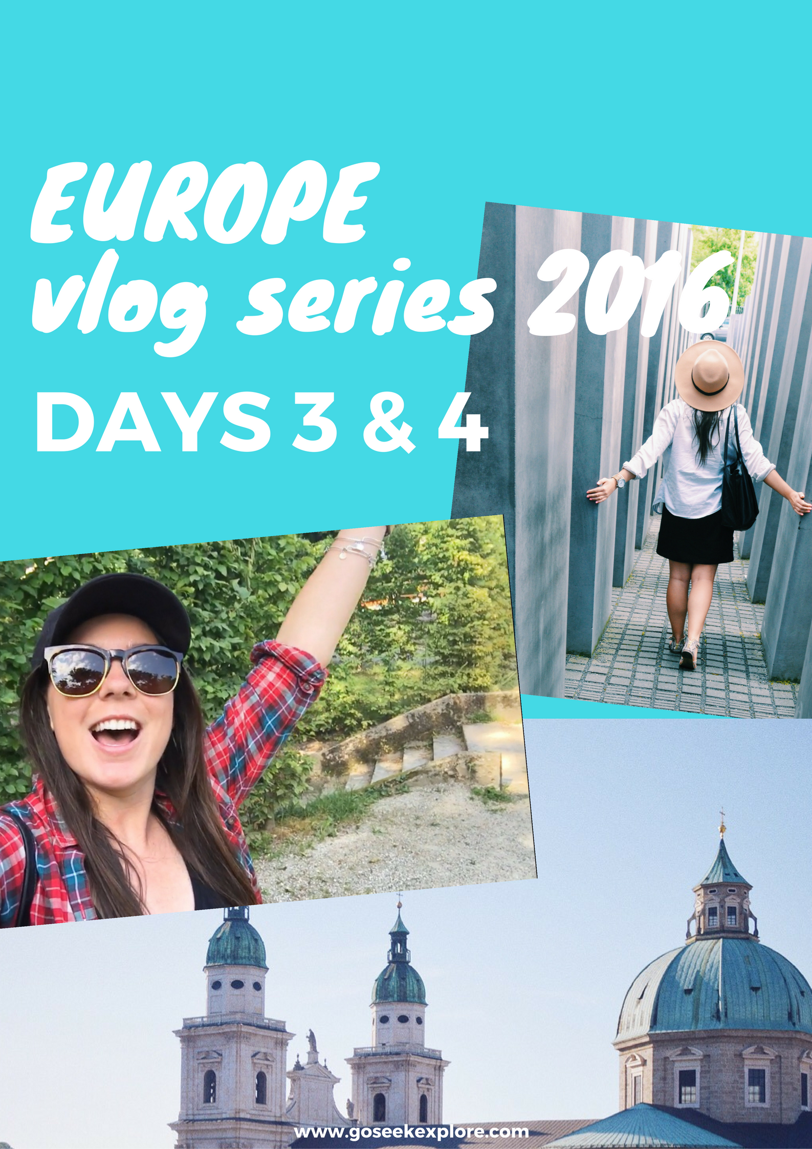 Europe VLOG Series days 3 & 4, working and traveling in Vienna!