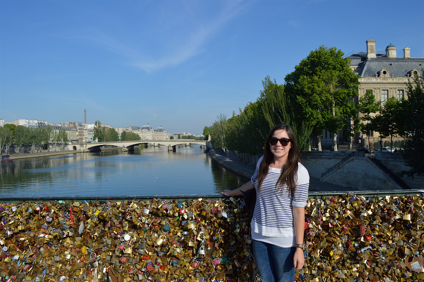 Paris, France (before they took those locks down!)