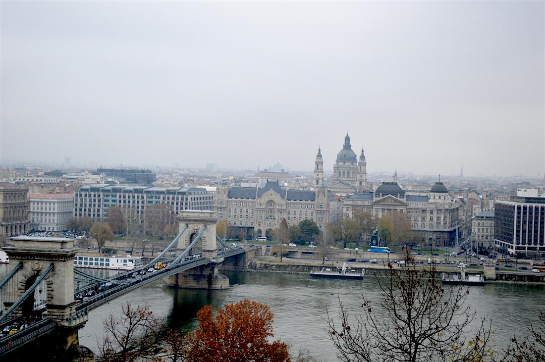 Budapest, Hungary in November