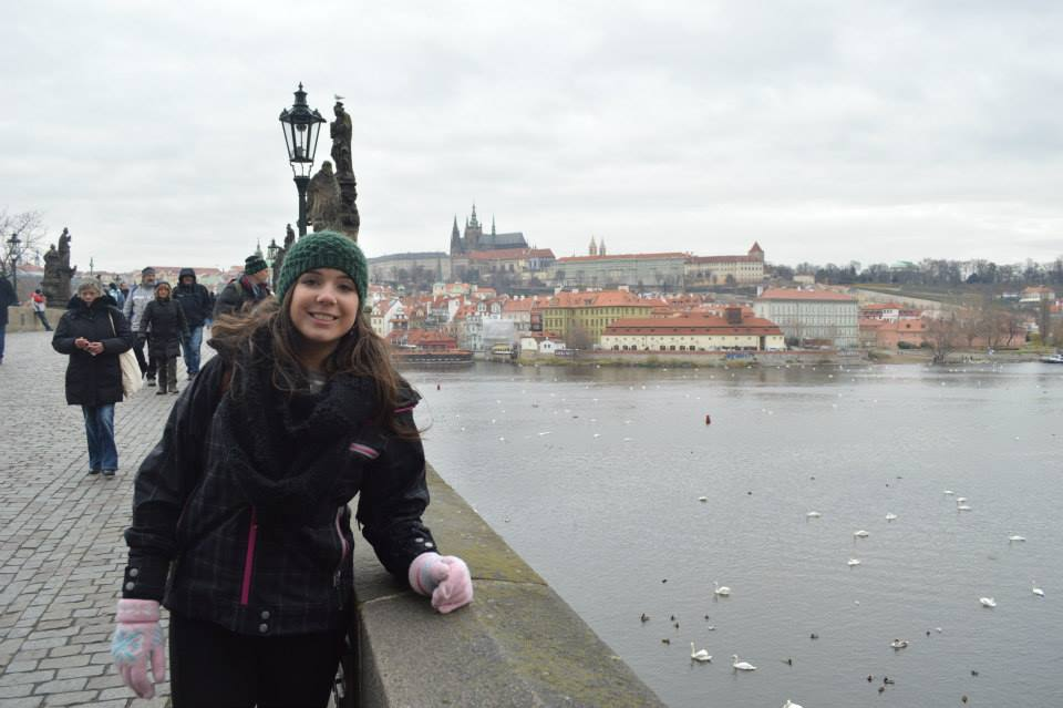 A very cold, December day in Prague!