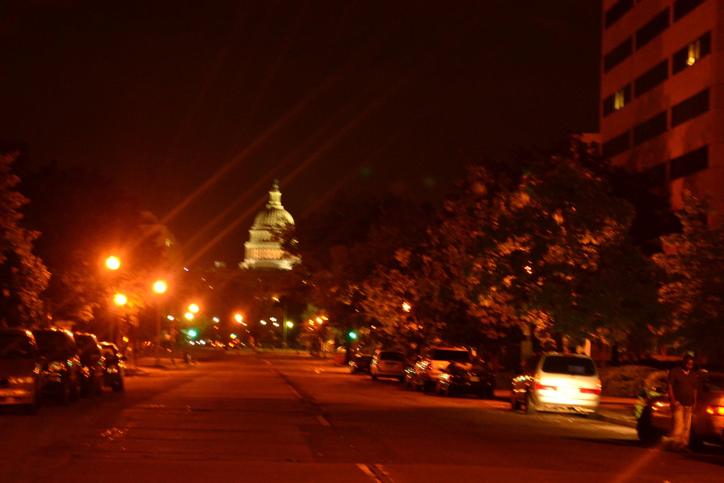 Washington-DC-Capitol-at-night