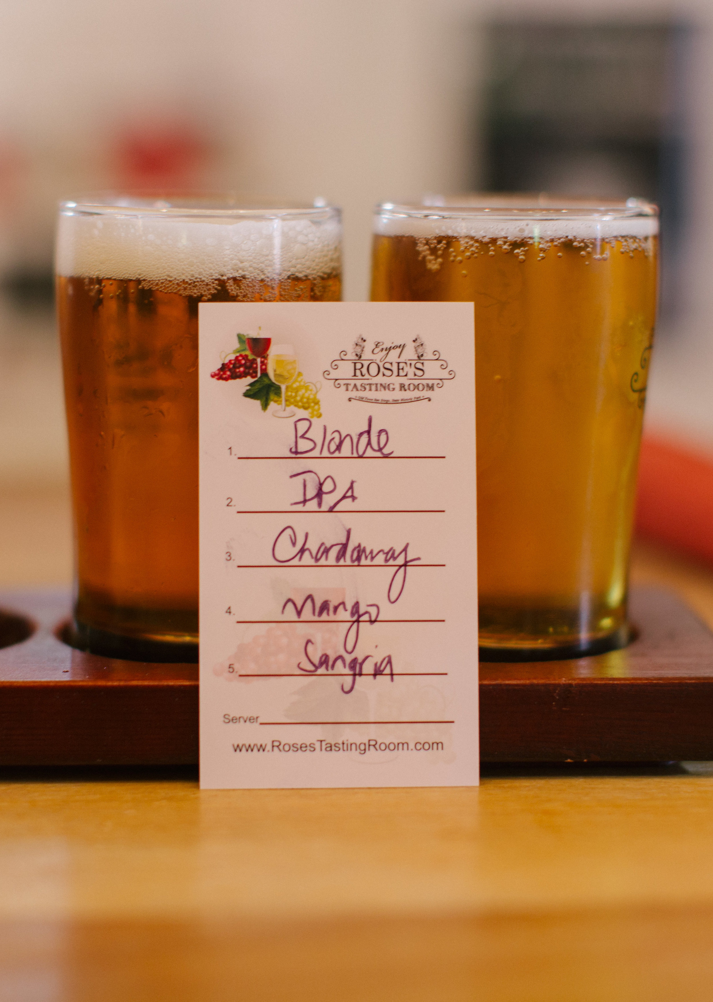 Cinco de Mayo in Old Town San Diego! First head to Rose's Tasting Room - local San Diego beer and wine rotated monthly in Old Town, San Diego!