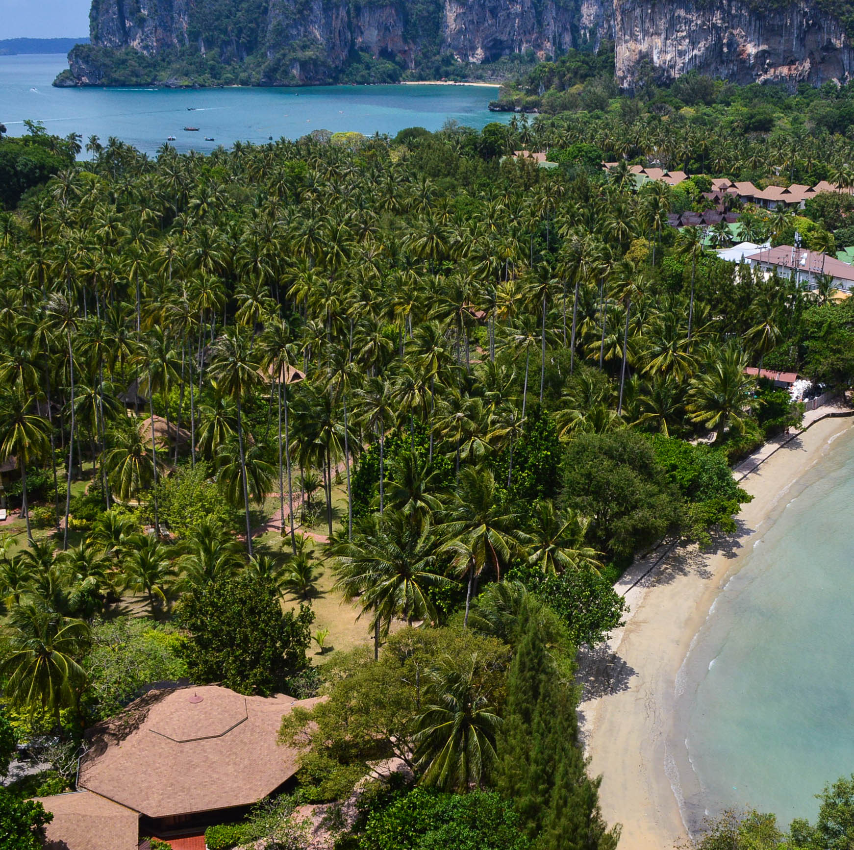 Beach viewpoint in Railay, Thailand! Best/worst moments from backpacking southeast asia