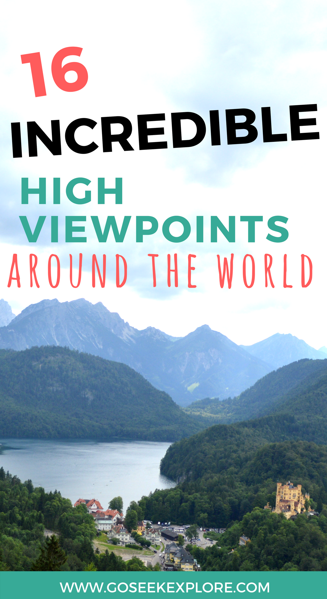 16 INCREDIBLE Viewpoints Around the World! You HAVE to see these [PHOTOS]