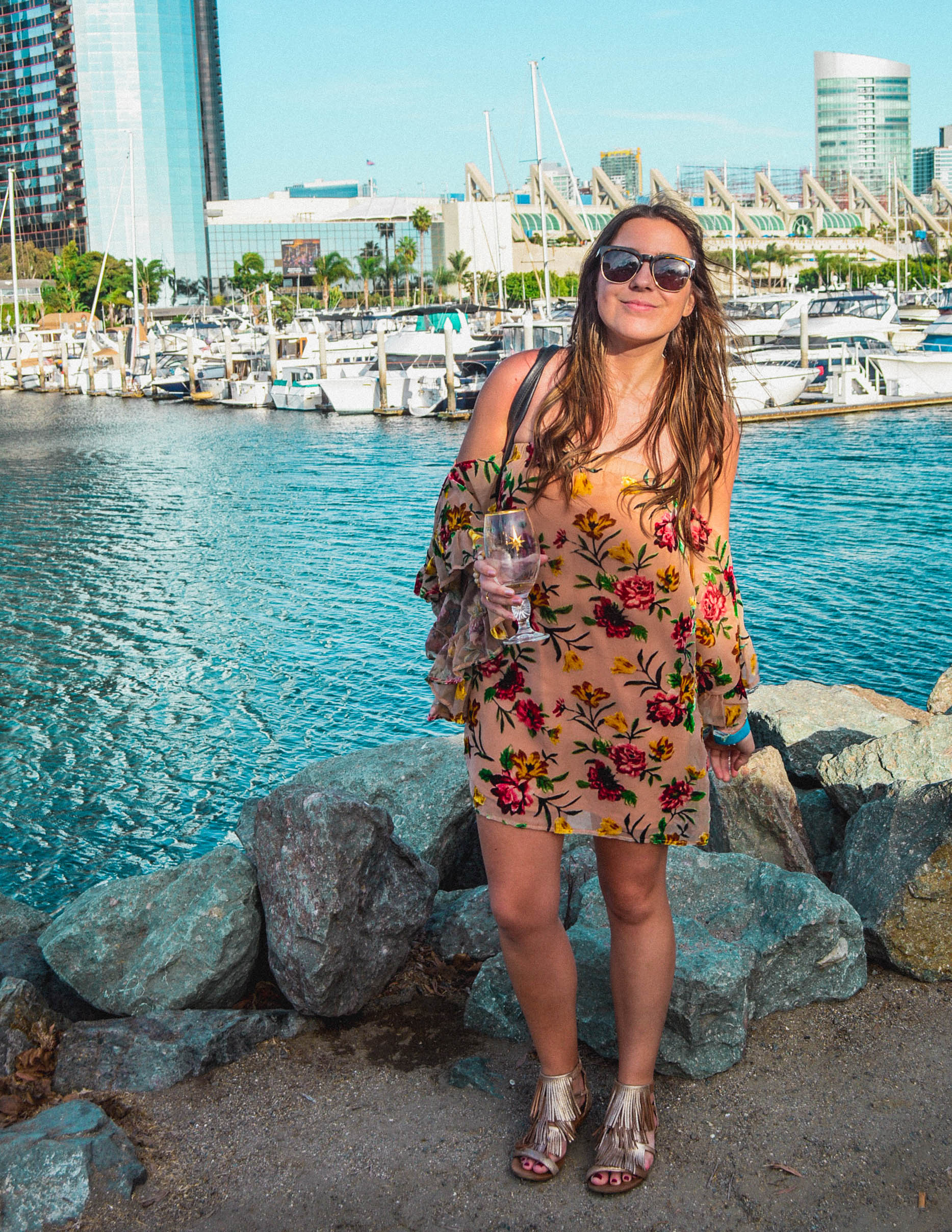 San Diego downtown wine festival - Travel | 2017 Travel Year in Review + Travel and Blog Goals for 2018 | goseekexplore.com