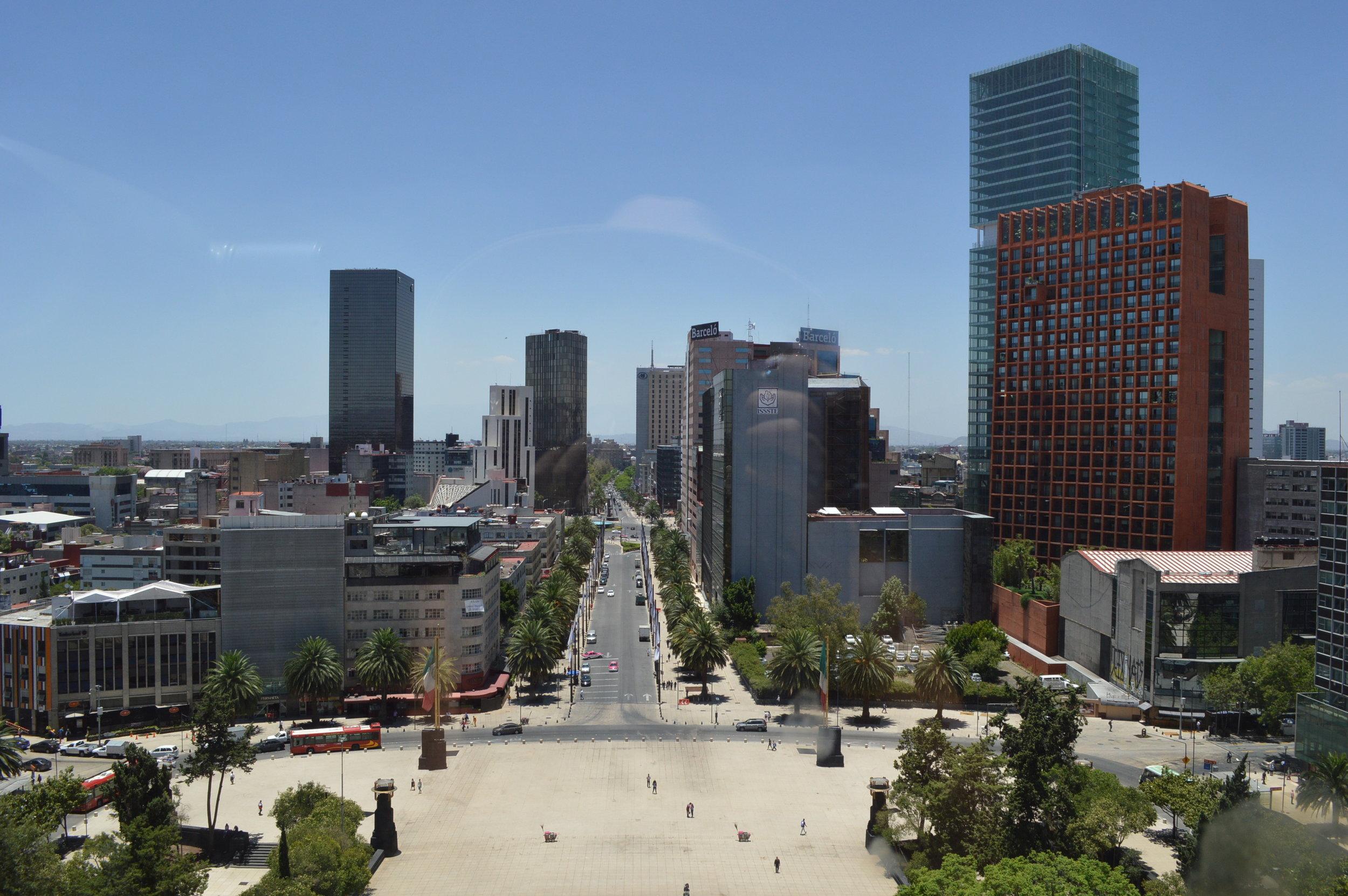 Is Mexico City safe for travelers? / View of Mexico City / goseekexplore.com