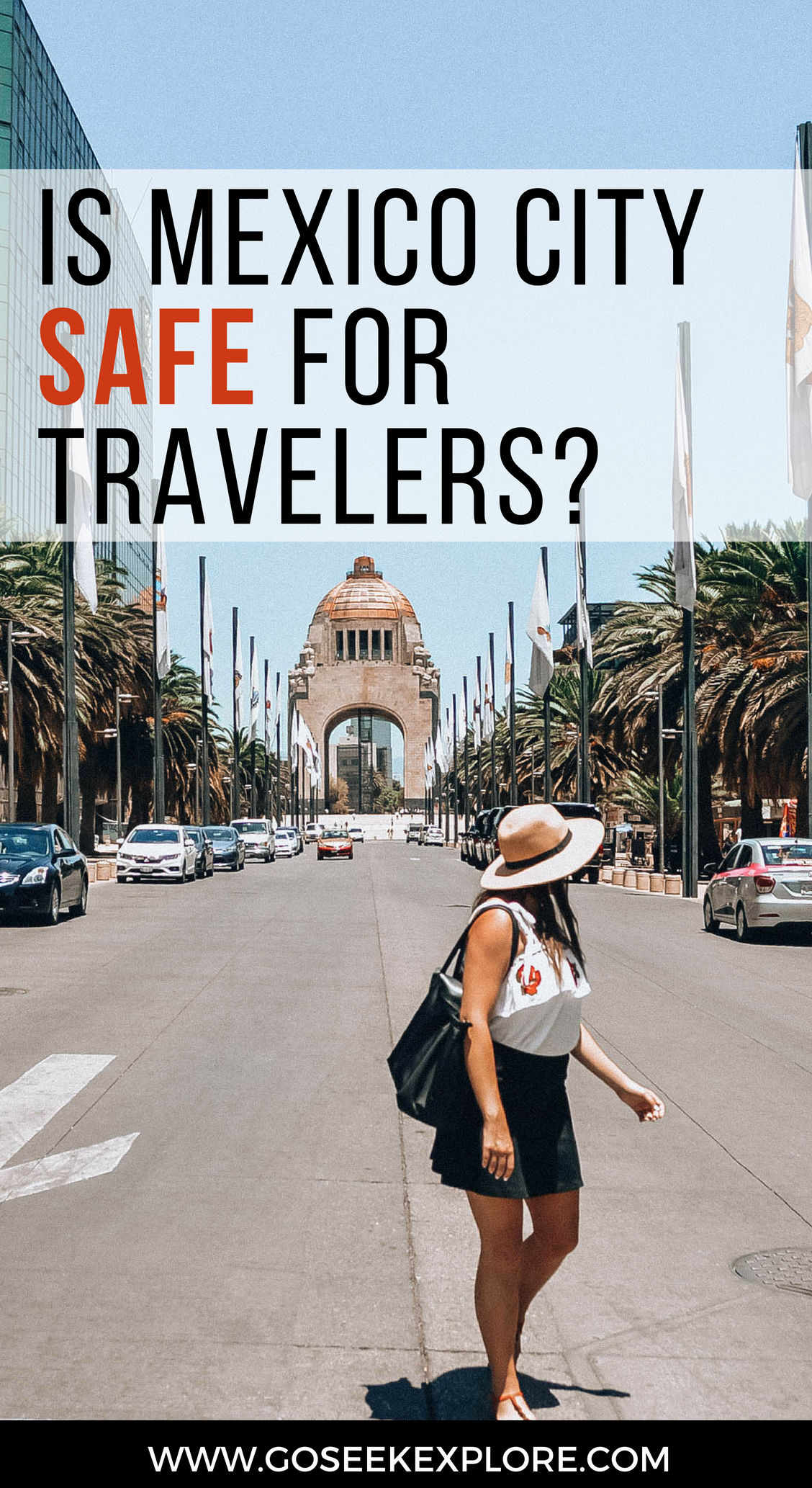 Is Mexico City Safe for Travelers? I go over what precautions my friend and I took before and during our trip to Mexico City! / goseekexplore.com / is-mexico-city-safe