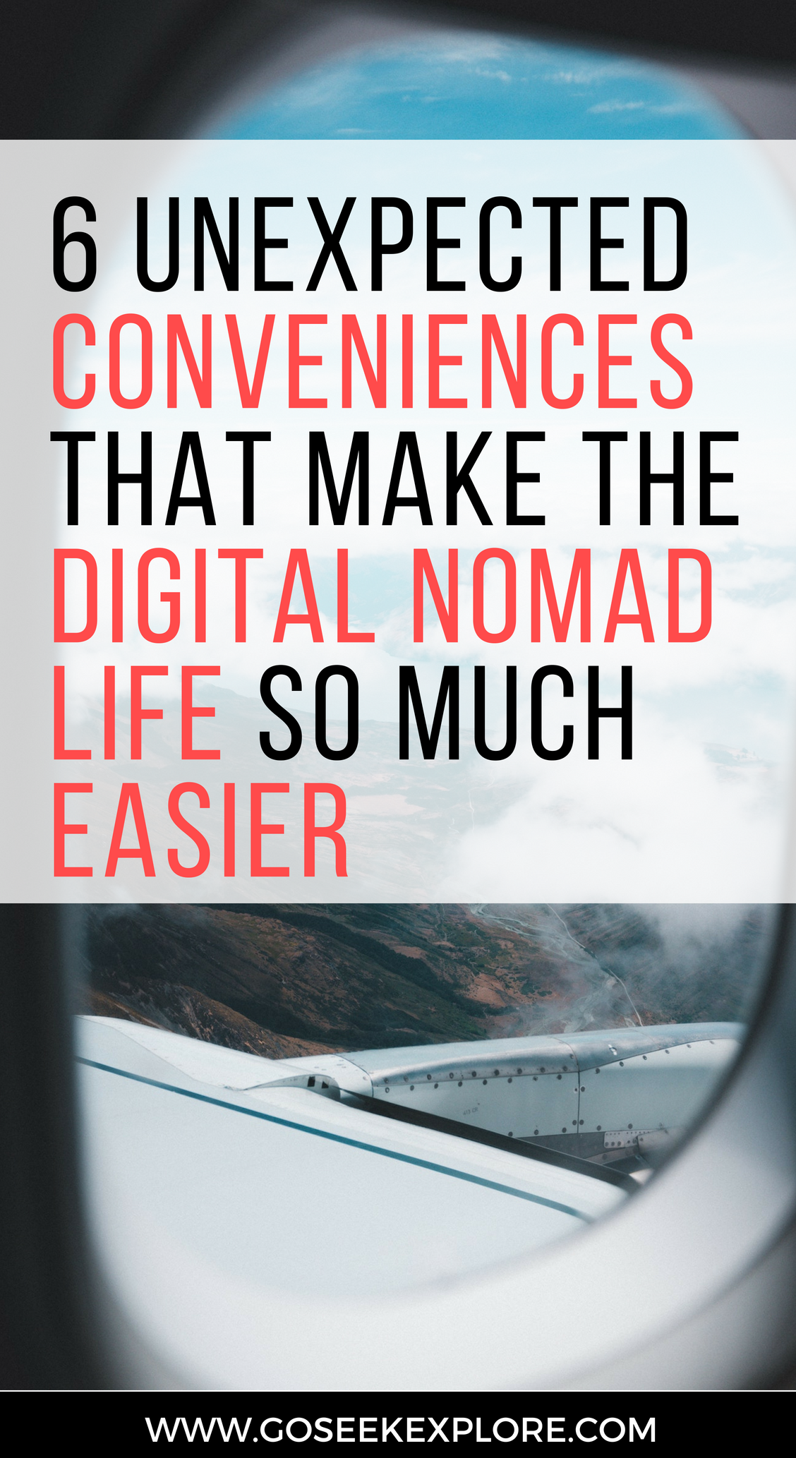 Six Unexpected Conveniences For Digital Nomads - these make traveling long-term as a digital nomad SO much easier! // goseekexplore.com // 6-conveniences-digital-nomads