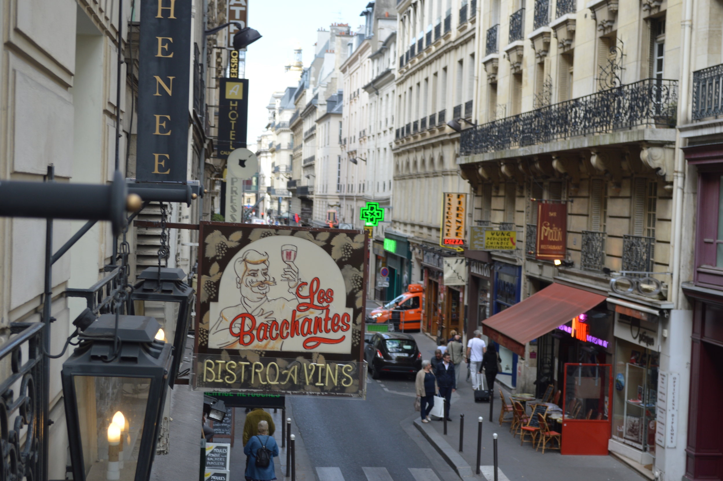 View out the window of Hotel Athenee in Paris, France - this article lists 10 amazing things you must not miss in Paris! Have you planned your trip yet? / goseekexplore.com