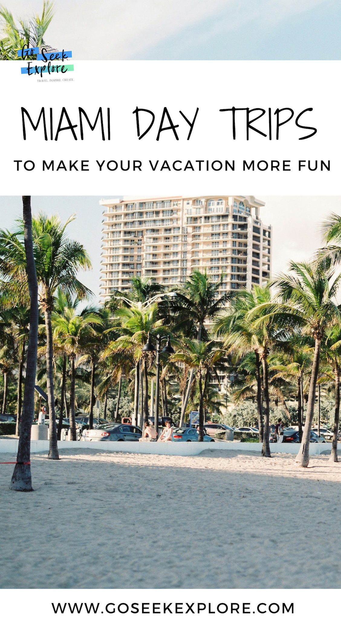 Venture outside of Miami and South Beach with these unforgettable Miami day trips! Four day trip ideas that make renting a car worth it on your Miami vacation. / goseekexplore.com / #miami #rentalcar #usaroadtrip