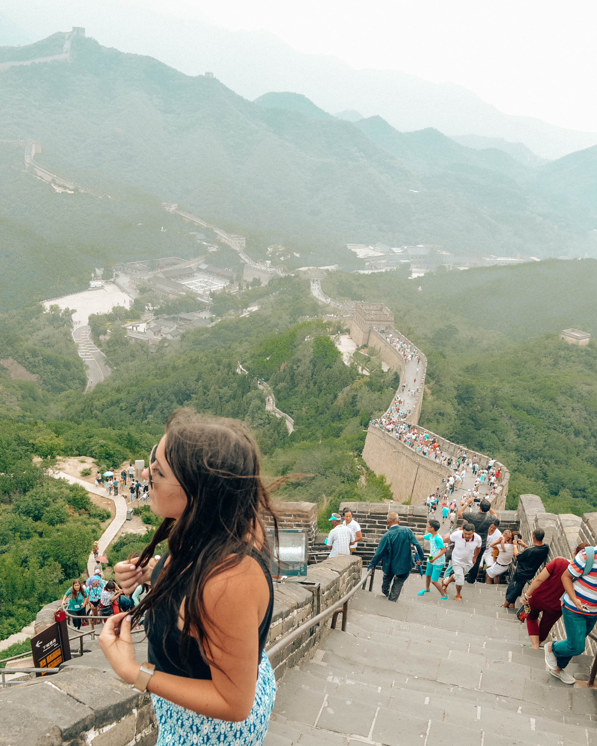 The Great Wall of China - July 2015