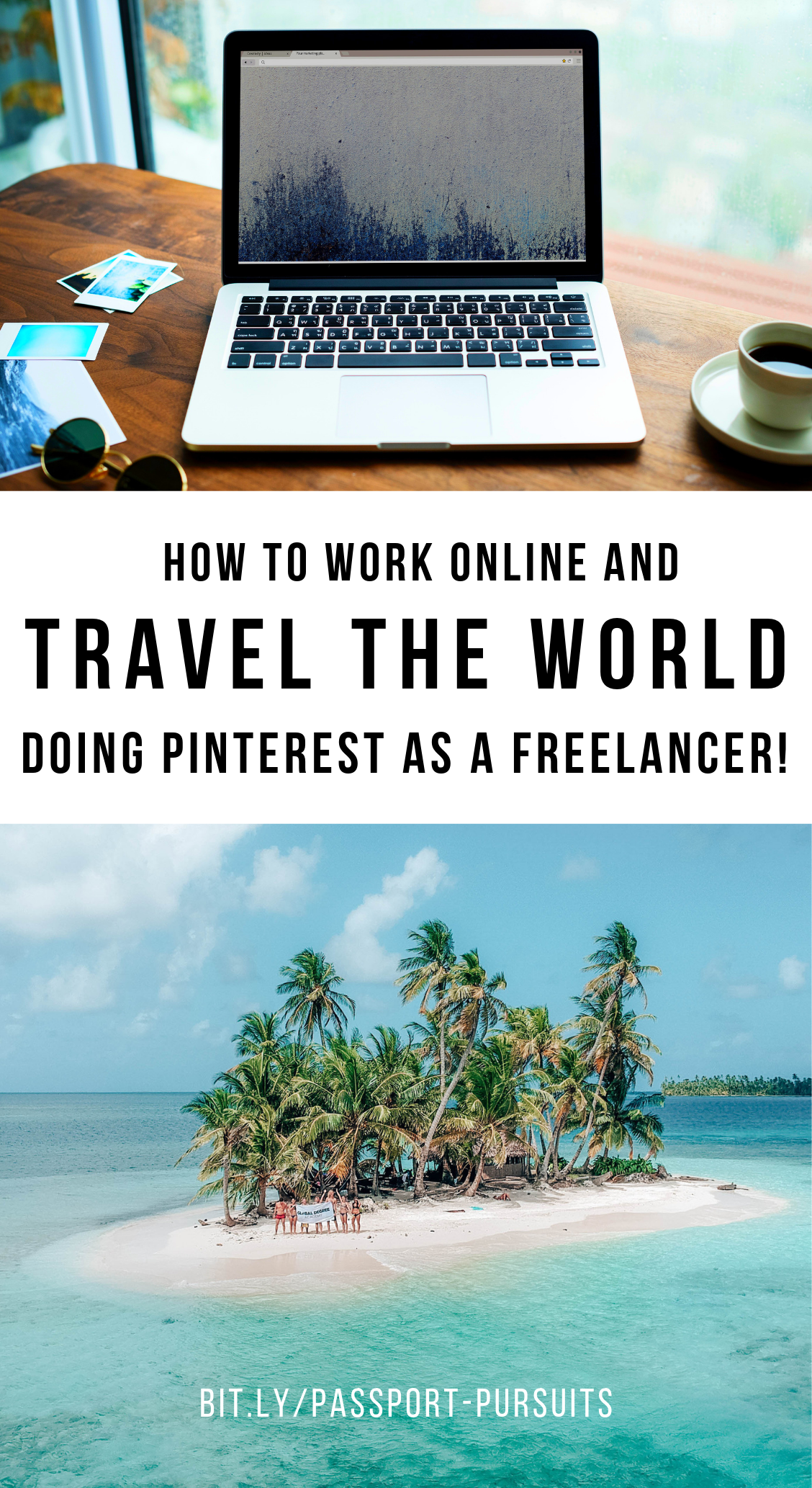 Ready to make this year the one you actually work online and travel the world? Freelancing is one of the BEST ways to get started, because it doesn't require you to launch a business, create products, or waste your time on methods that take a long time to turn a profit. This blog post goes over how to get started freelancing online, and links to a free masterclass about doing Pintererest as a freelancer! Click through to see! / goseekexplore.com #digitalnomad #workonline #travel #traveltips #workfromhome #freelance #freelancetips