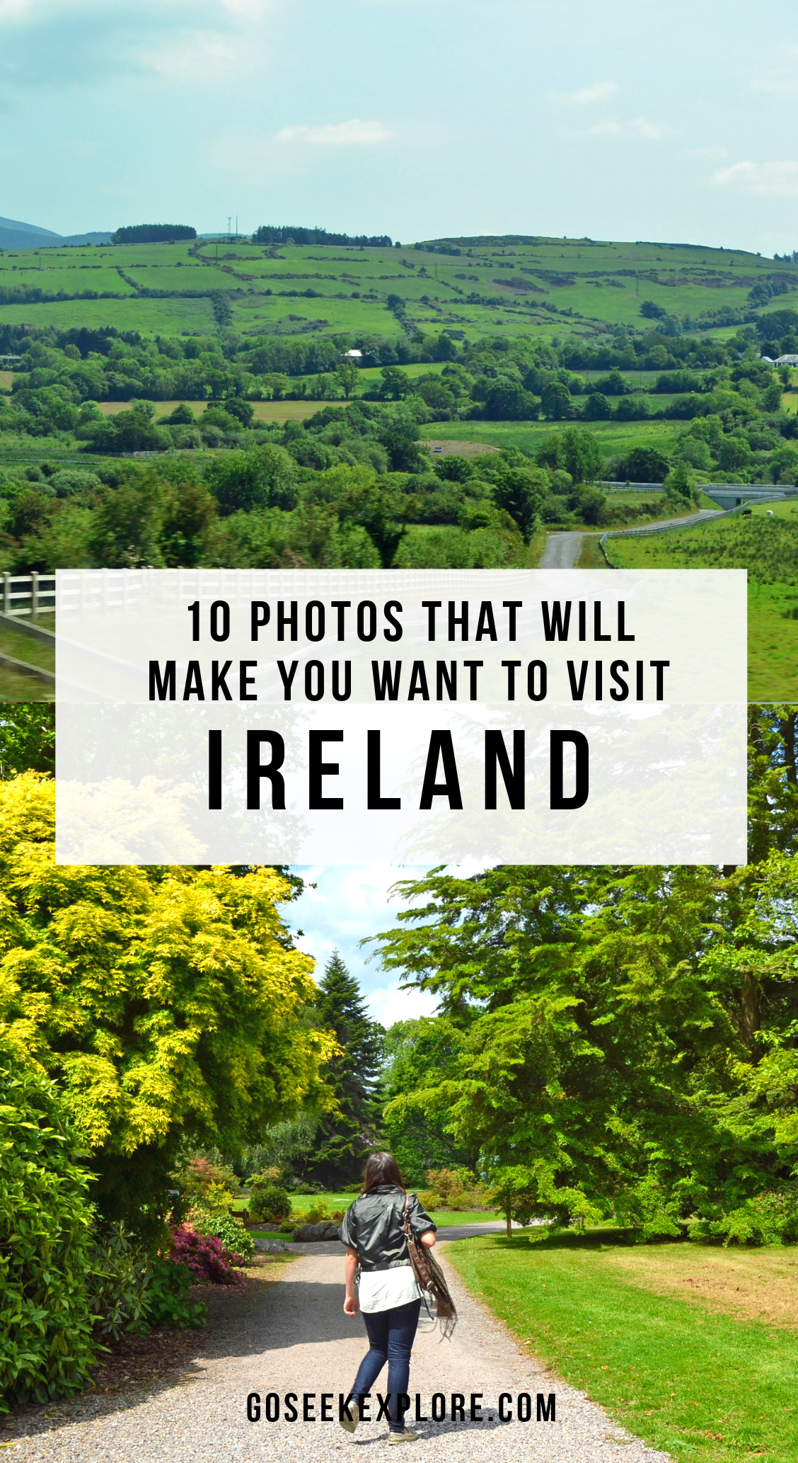 10 Photos that will make you want to visit Ireland, one of the most beautiful countries in Europe! This photo diary takes you to Cork, Dublin, and the Irish countryside. GoSeekExplore.com #ireland #irish #dublin #cork