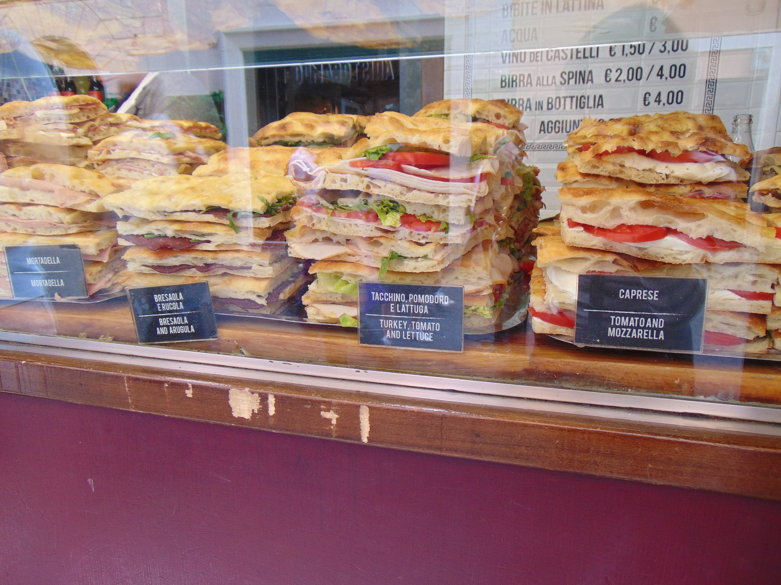 a daily stop to see 'The Panini Lady'