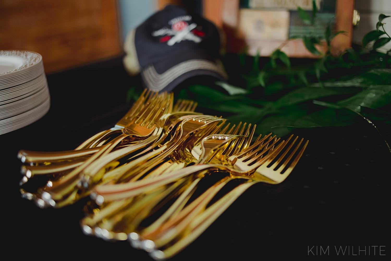 Gold Dinerware
