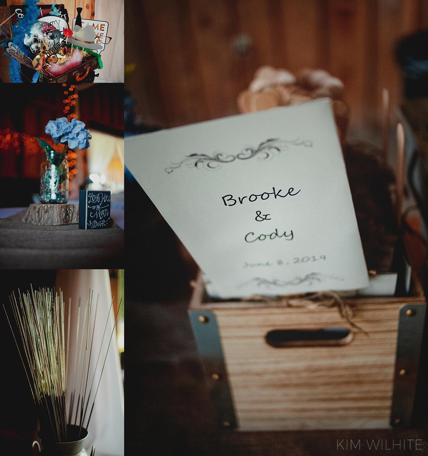 The Meadow Wedding Barn Decor