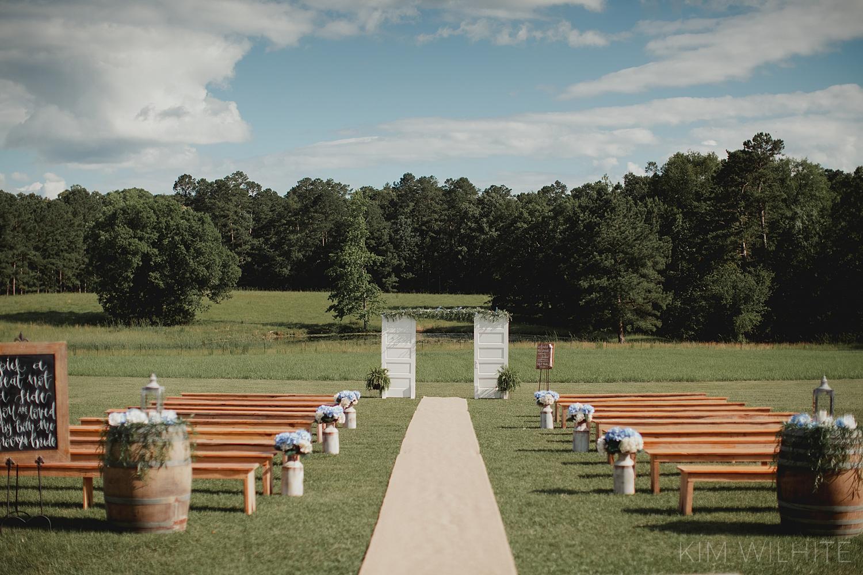 The Meadow Wedding Barn Ceremony