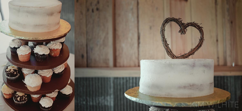 The Meadow Wedding Barn Cake