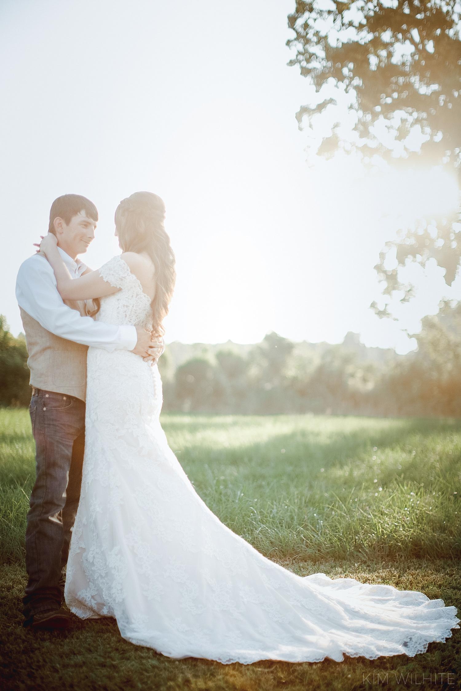 The Meadow Wedding Barn Bride and Groom