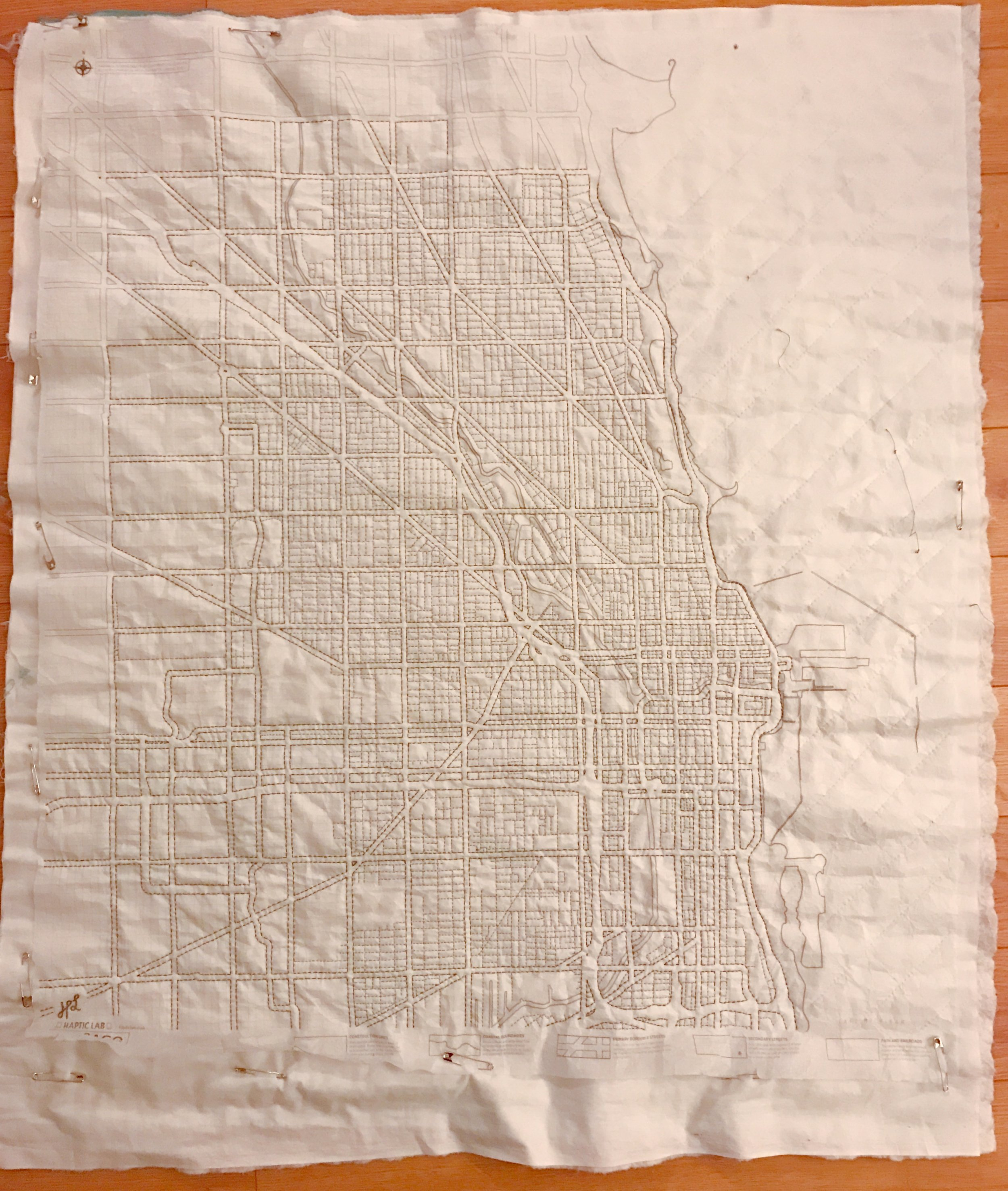 """For reference, this is approximately 36"""" x 42"""""""