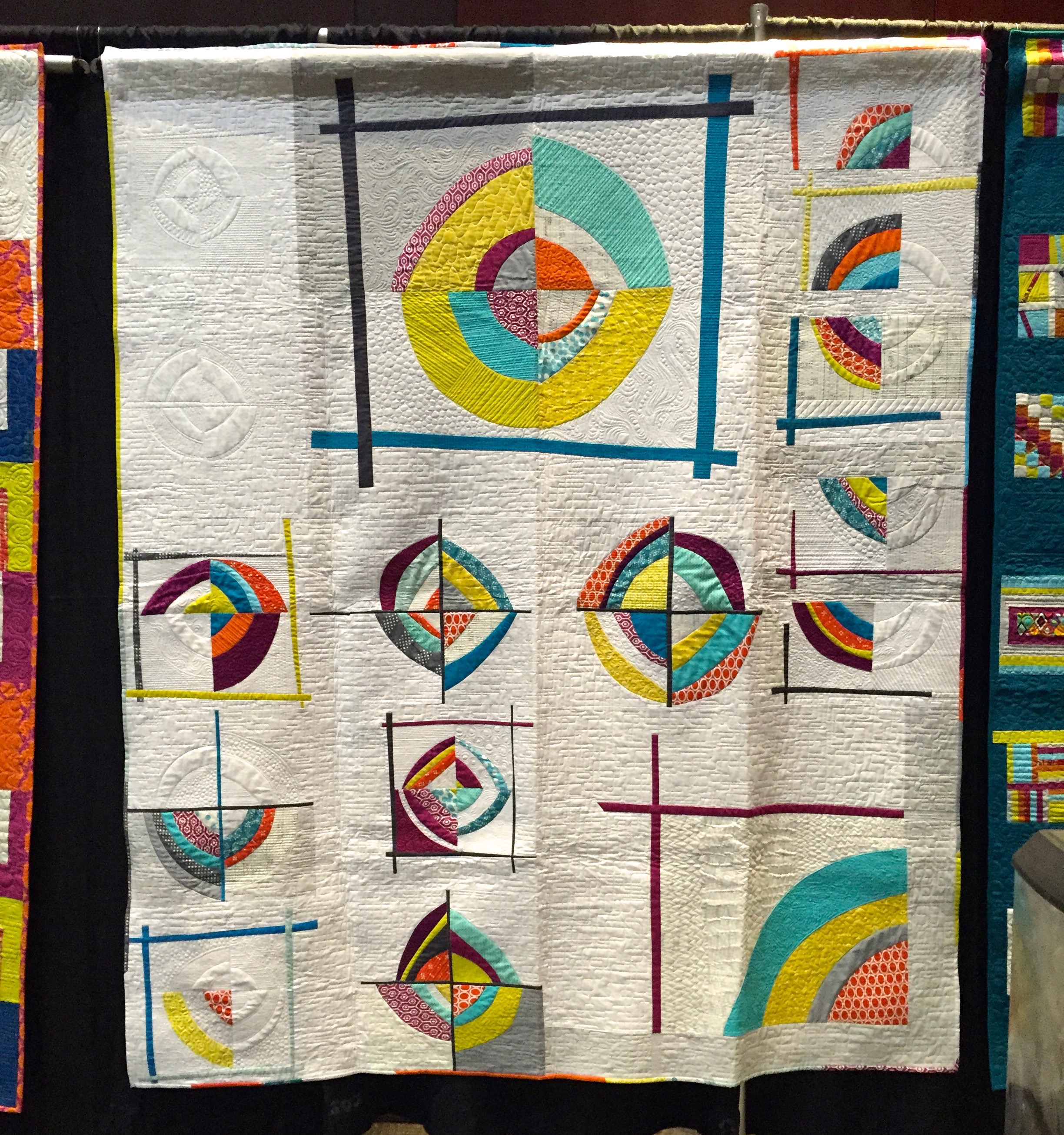 Group Charity Quilt Quiltcon 2013