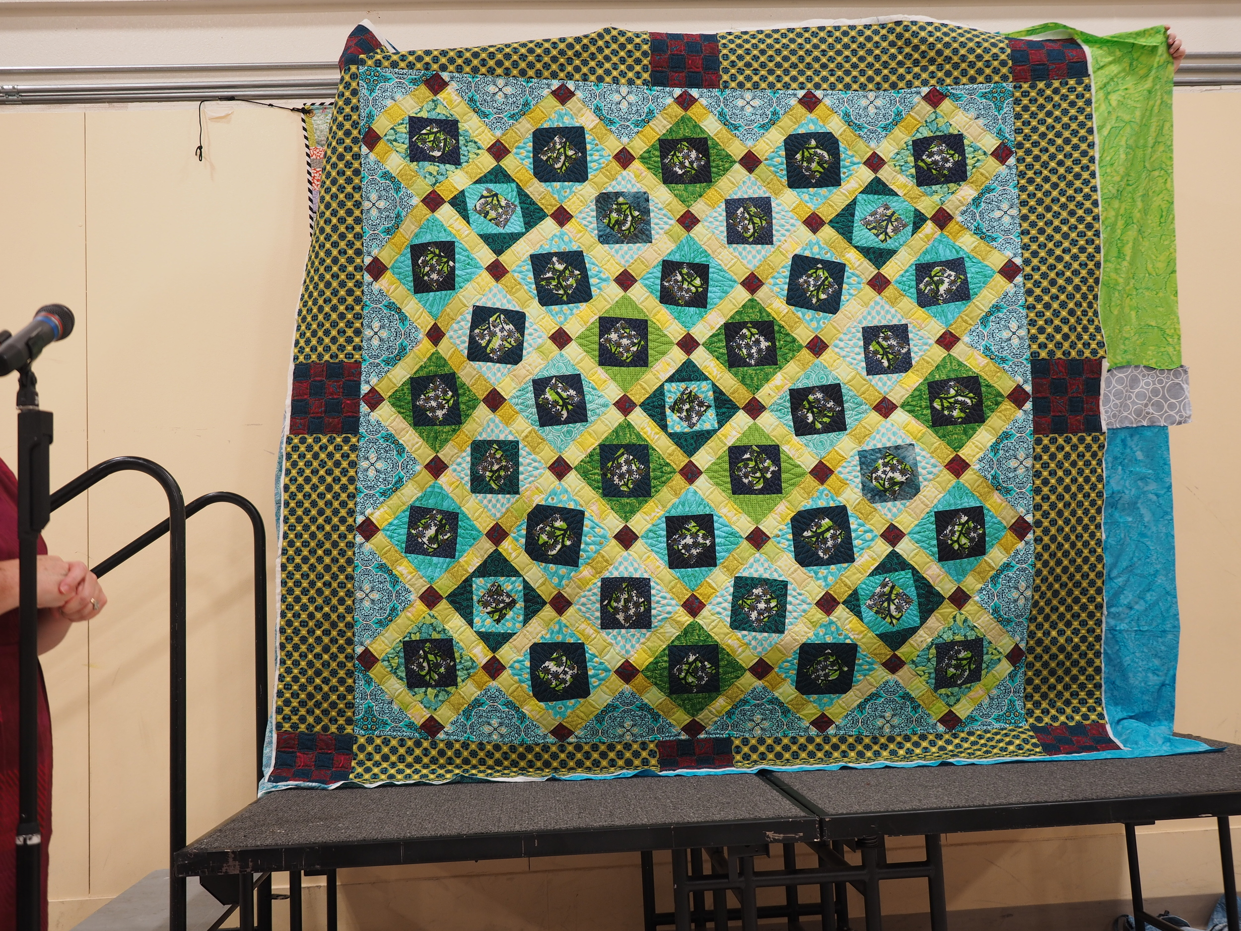 Charity Quilt for Rafael House