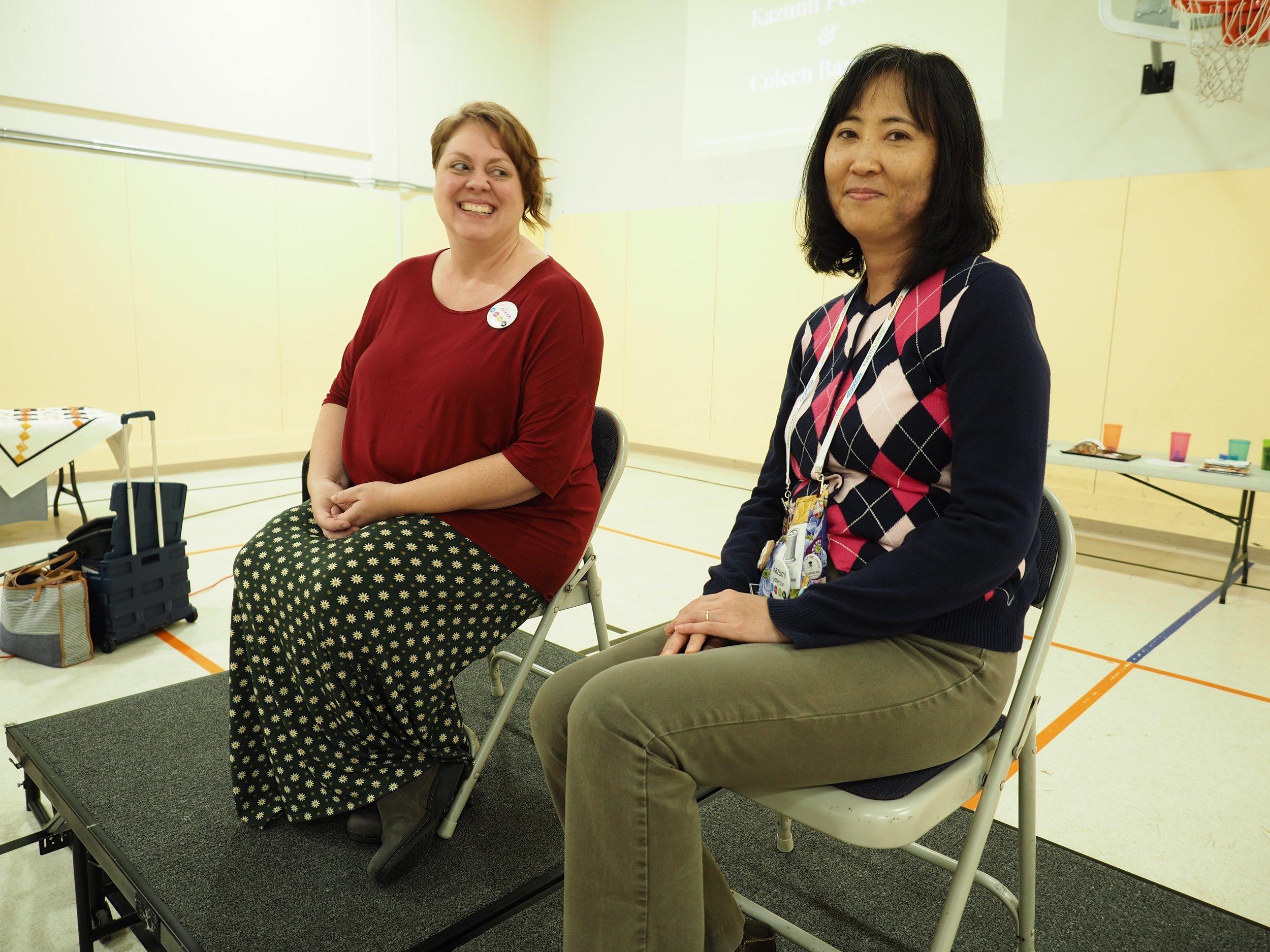 Coleen Barnhardt and Kazumi Peterson