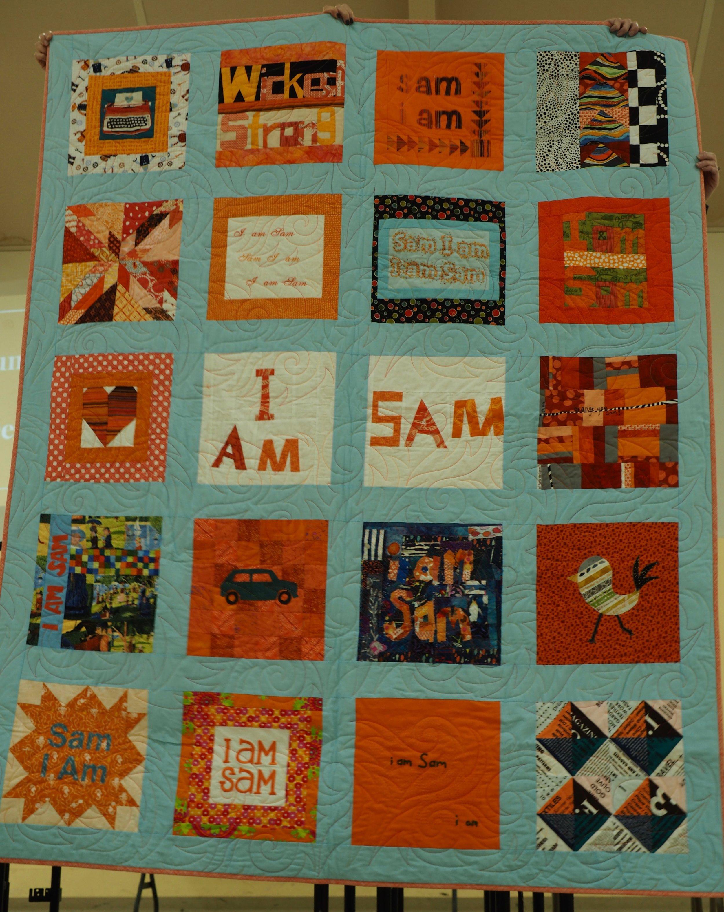 Sam I Am made for Sam Hunter