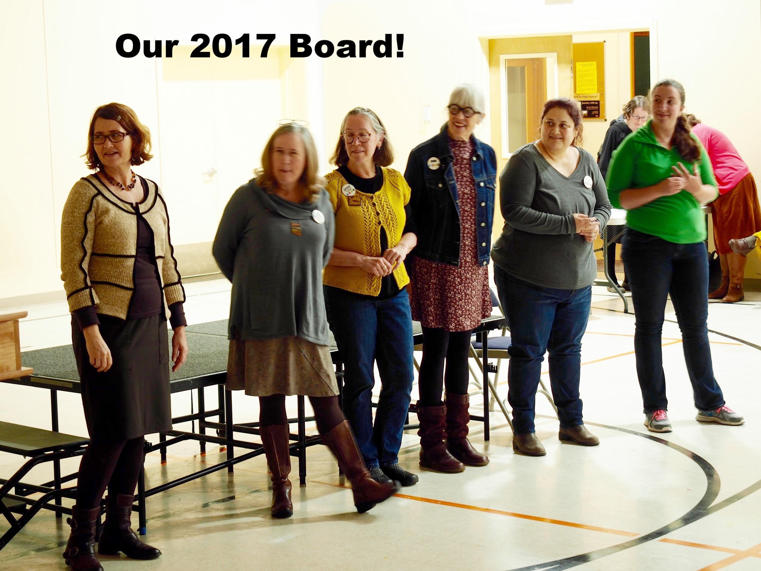President-Tamara King  Vice President-Tania Johnston  Secretary- Anne Matlak  Treasurer- Betty Colburn  Programs- Maria Cardenas & Nicole Howe