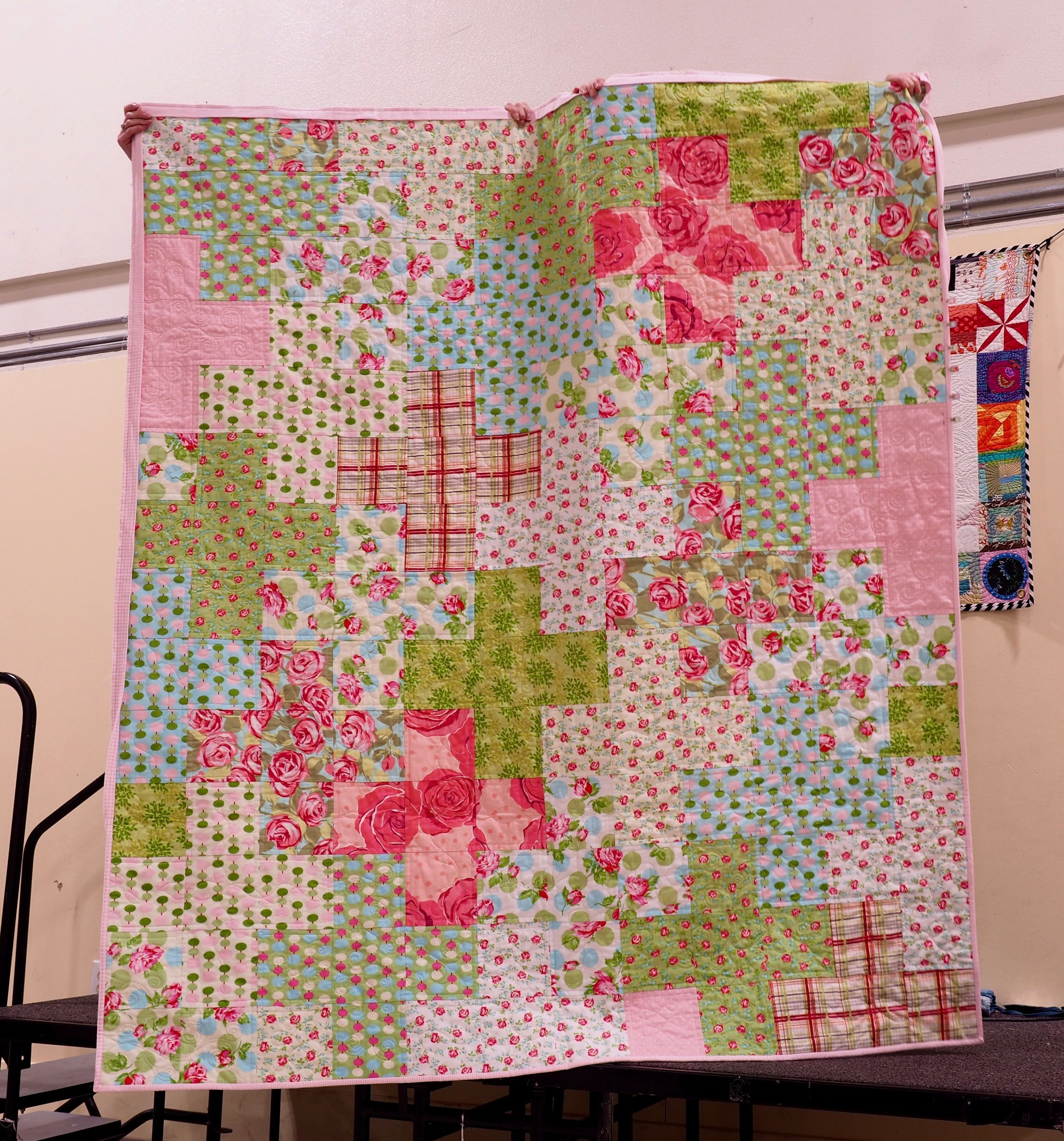 "Flannel ""plus"" Quilt by Lara Giles"