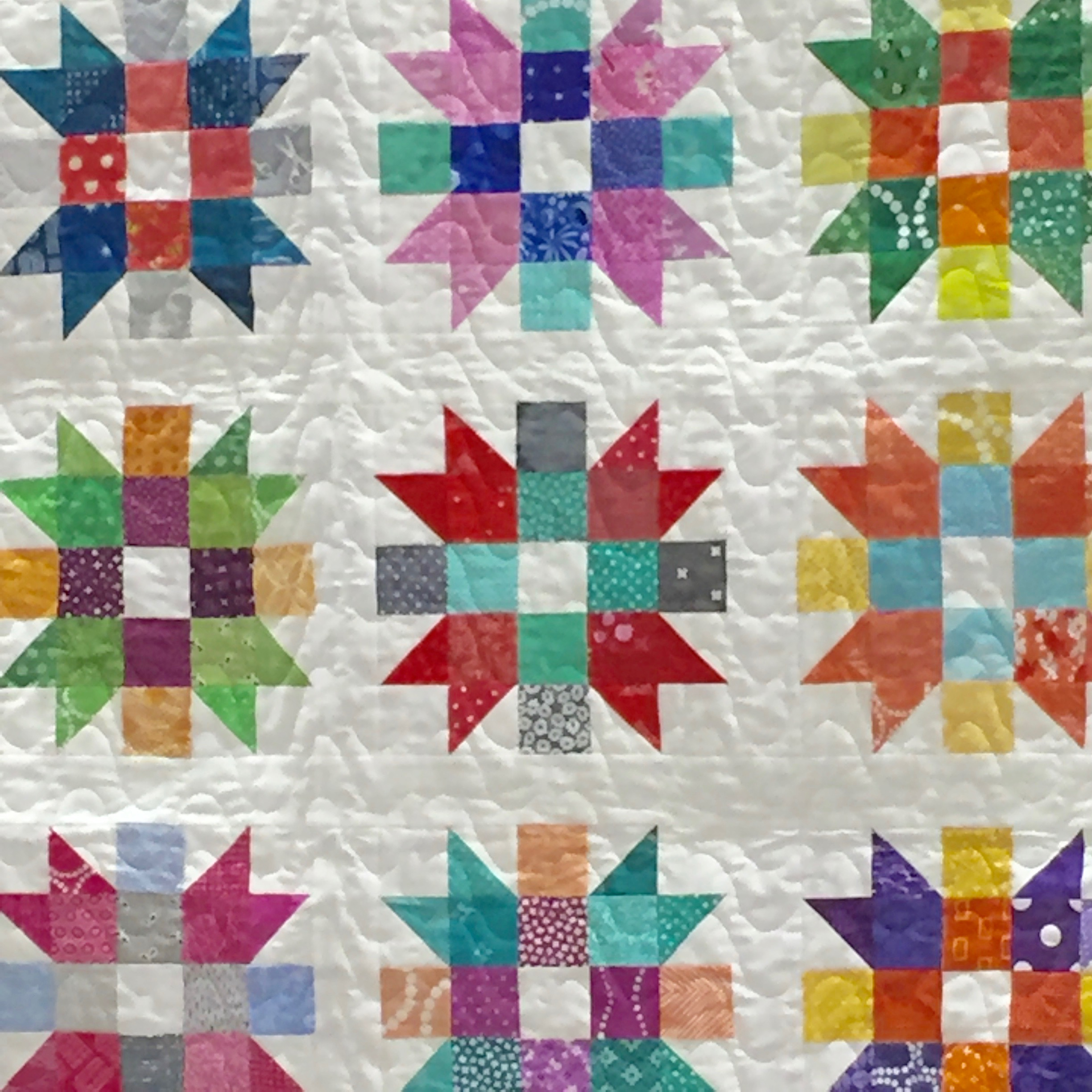 PMQG Charity Quilt shown at February meeting