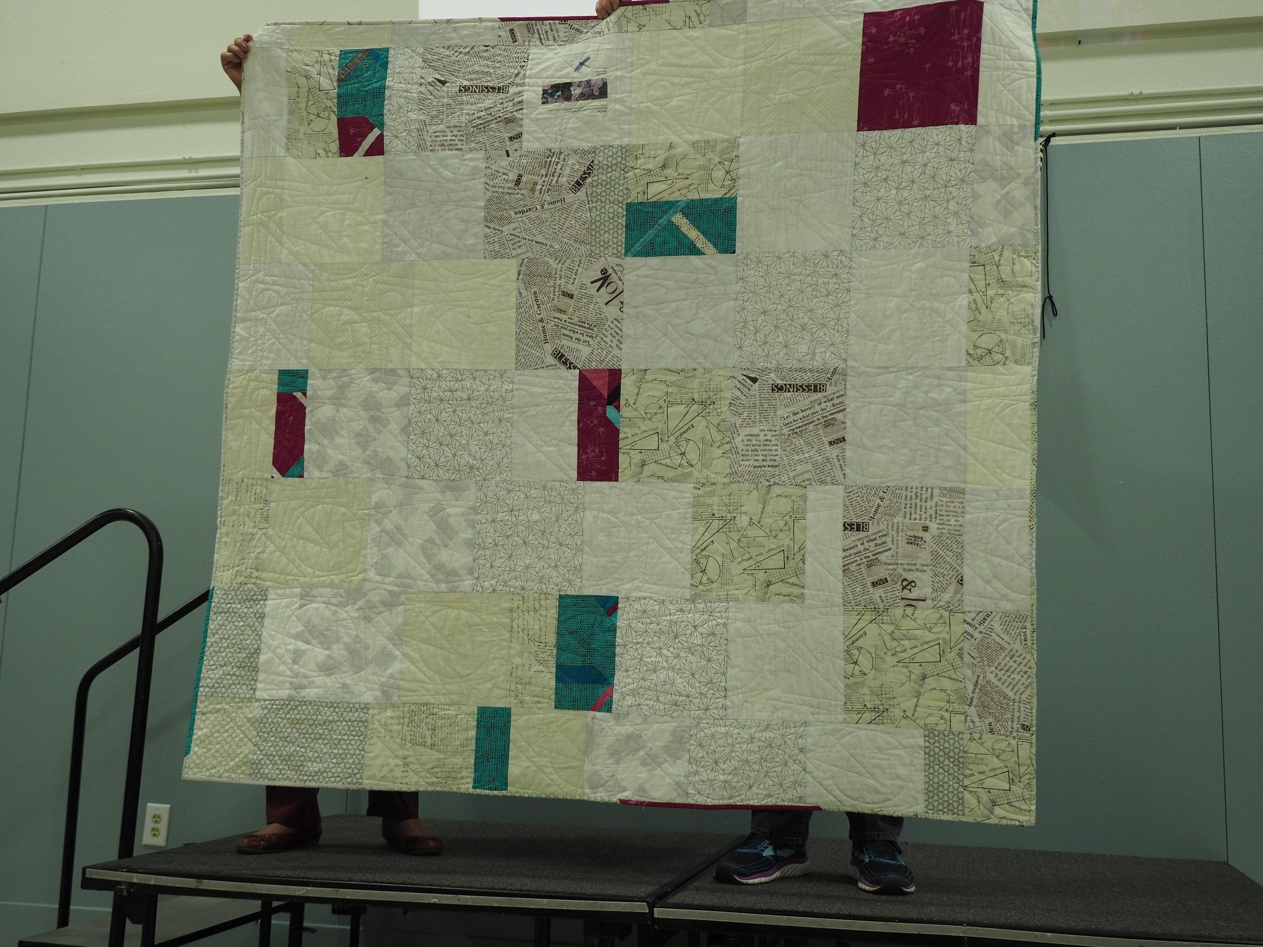 Reverse of Cross Cut by Linda Dyer