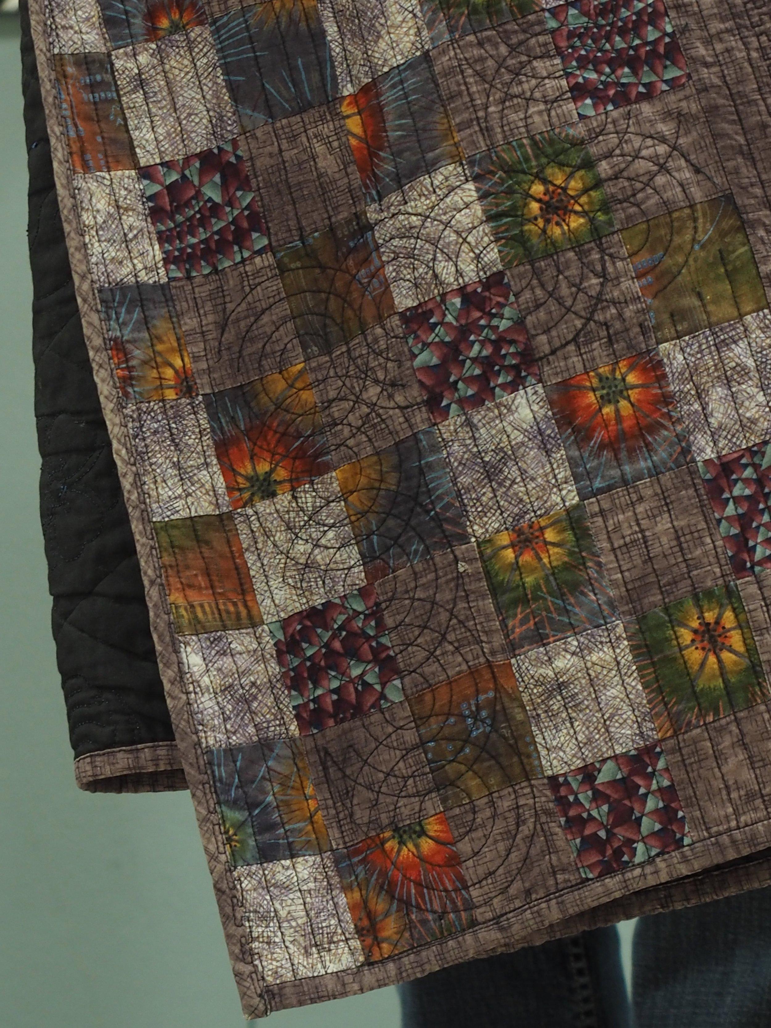 Detail of Quark Jacket by Tina Ryan