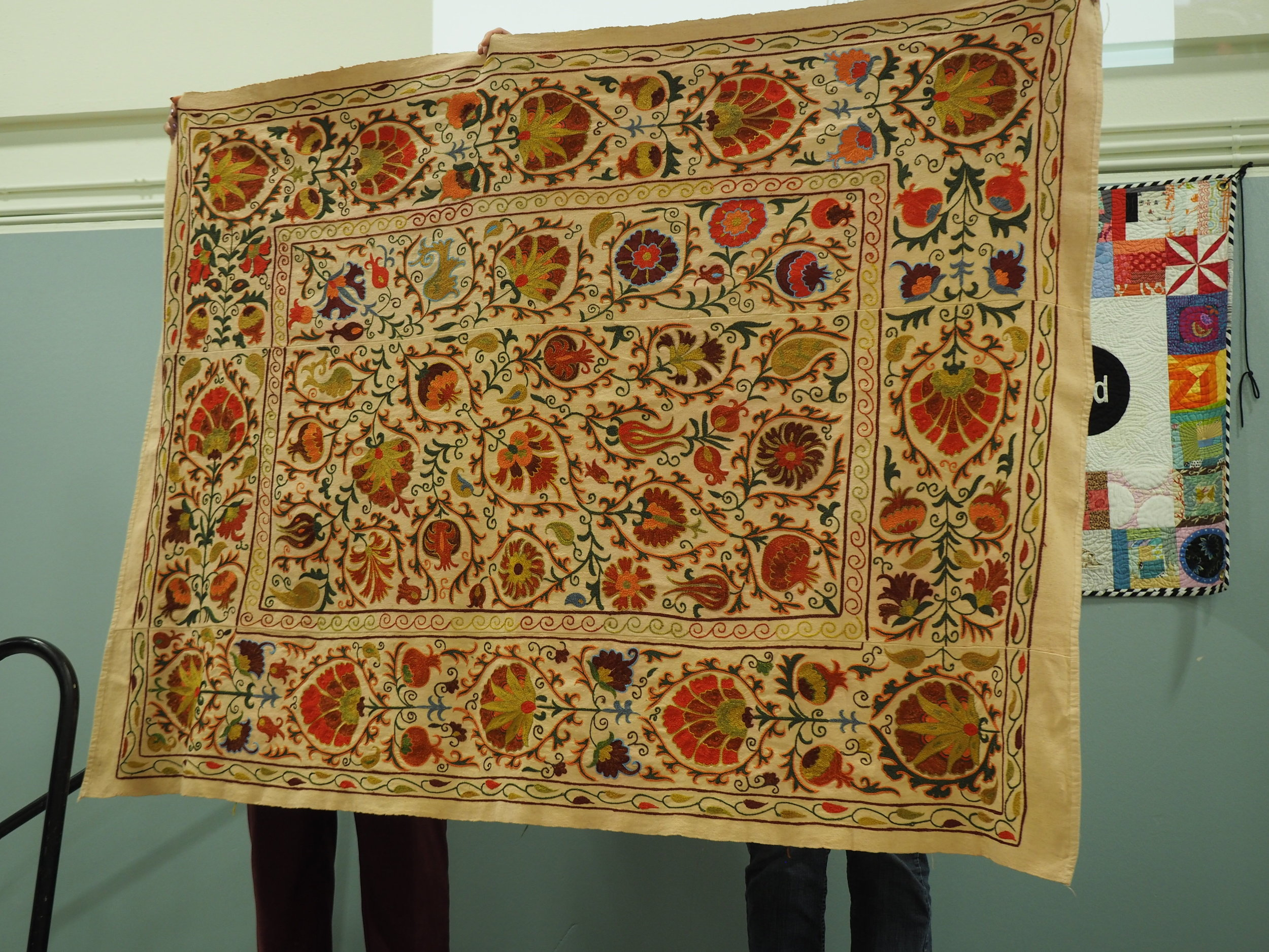 Uzbekistan Suzani presented by Nancy Watts