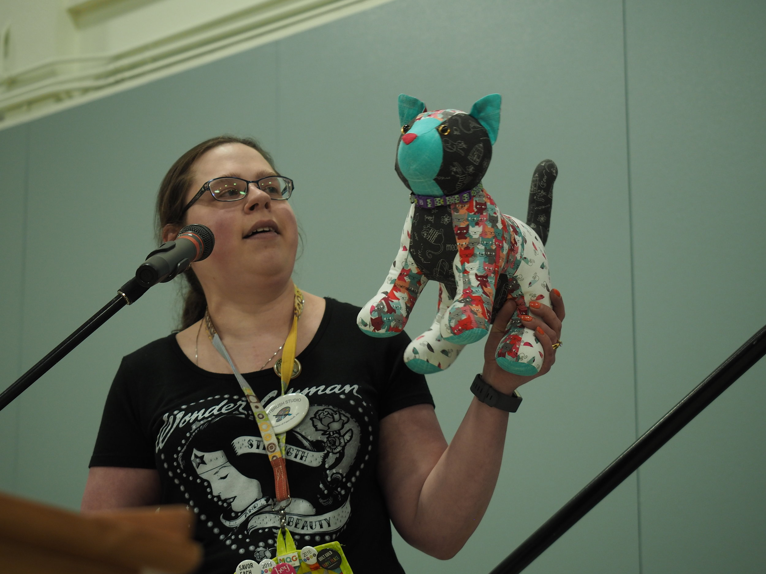 Cat toy by Jennifer Gleich