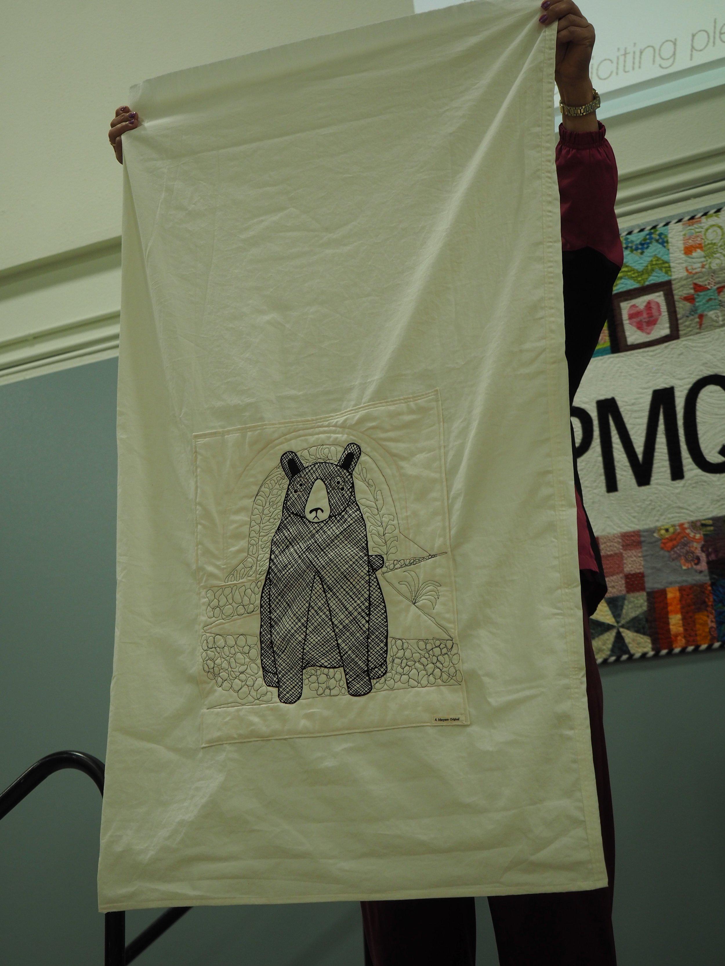 Toddler Sleeping bag by Maryann Todd-Thompson