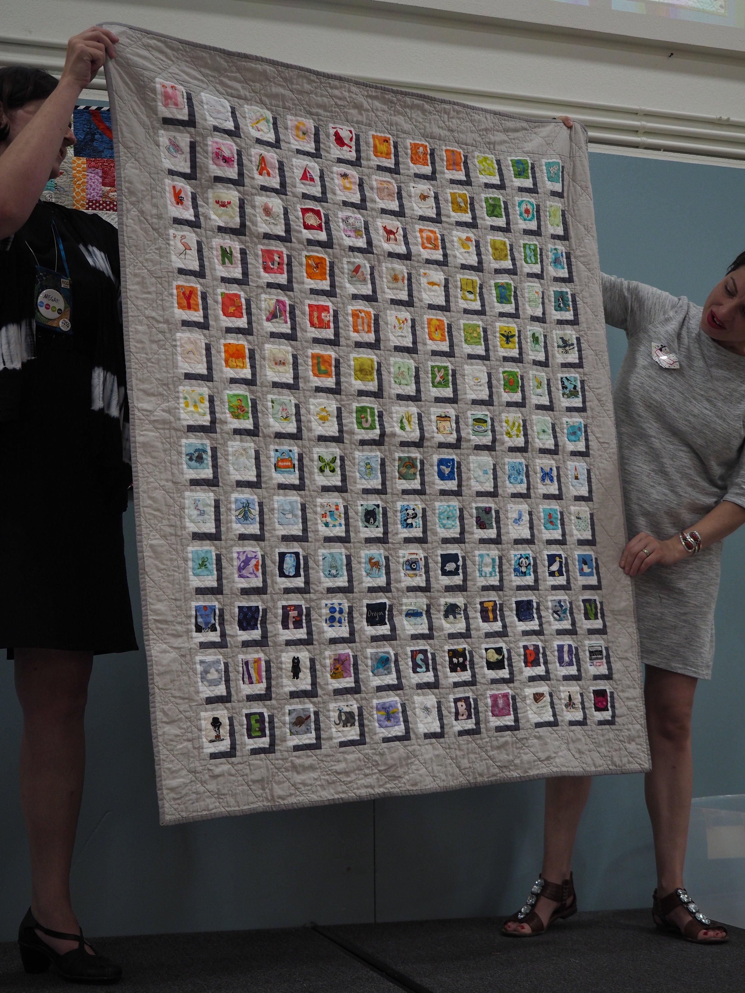 Polaroid Quilt by Amber Garrison