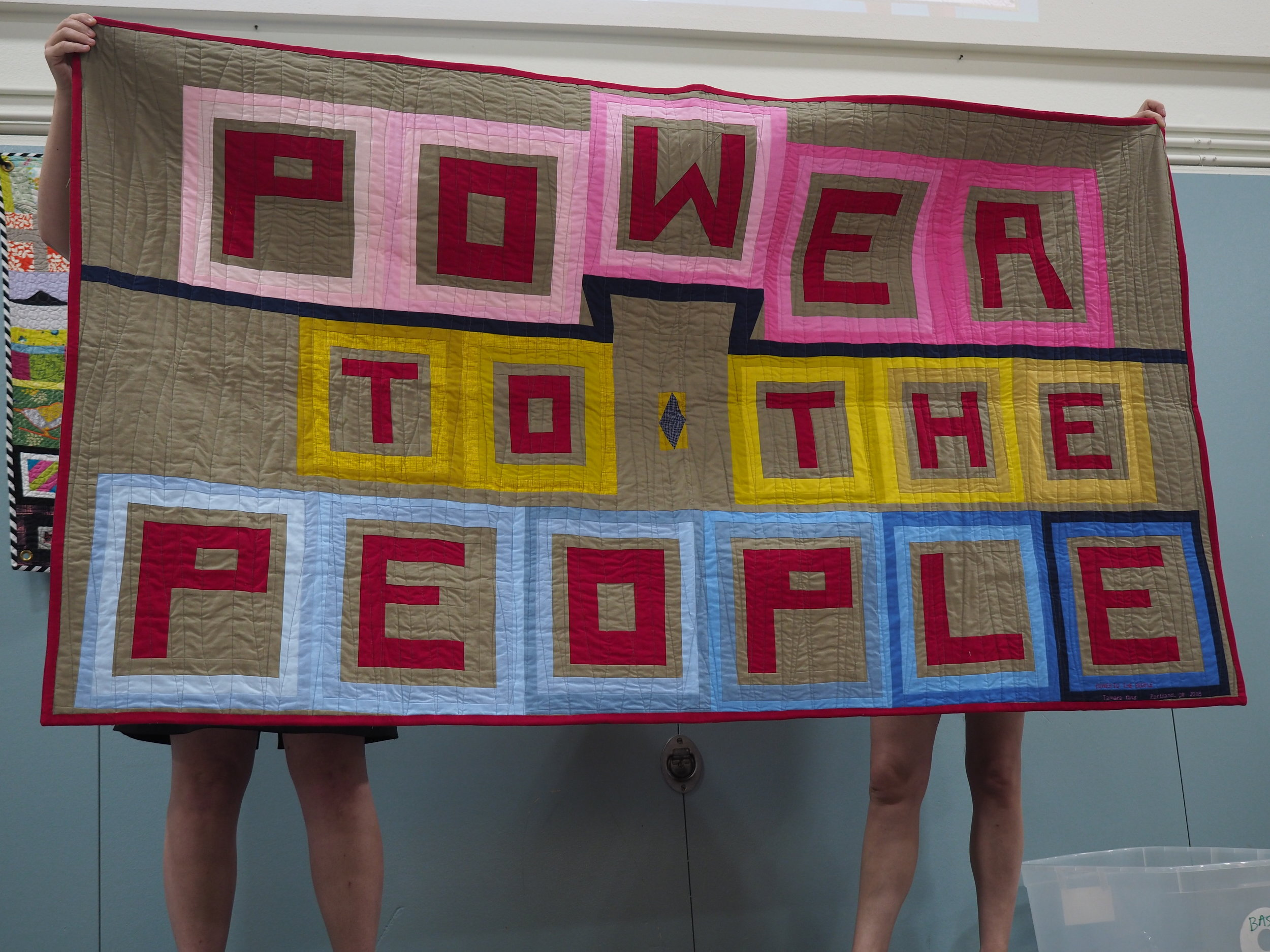 Power to the People Reverse by Tamara King