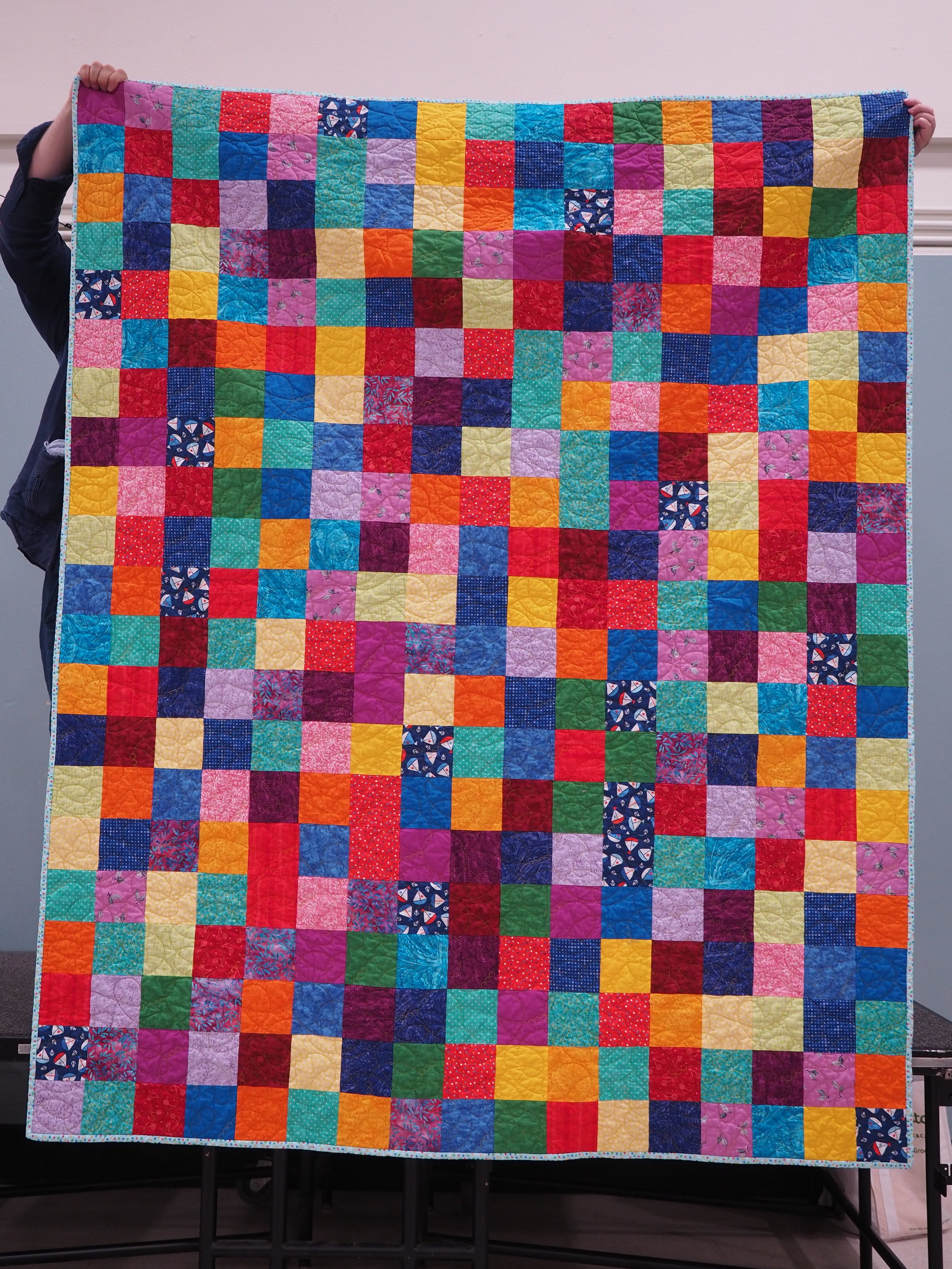 Dorm Quilt by Patty Turner