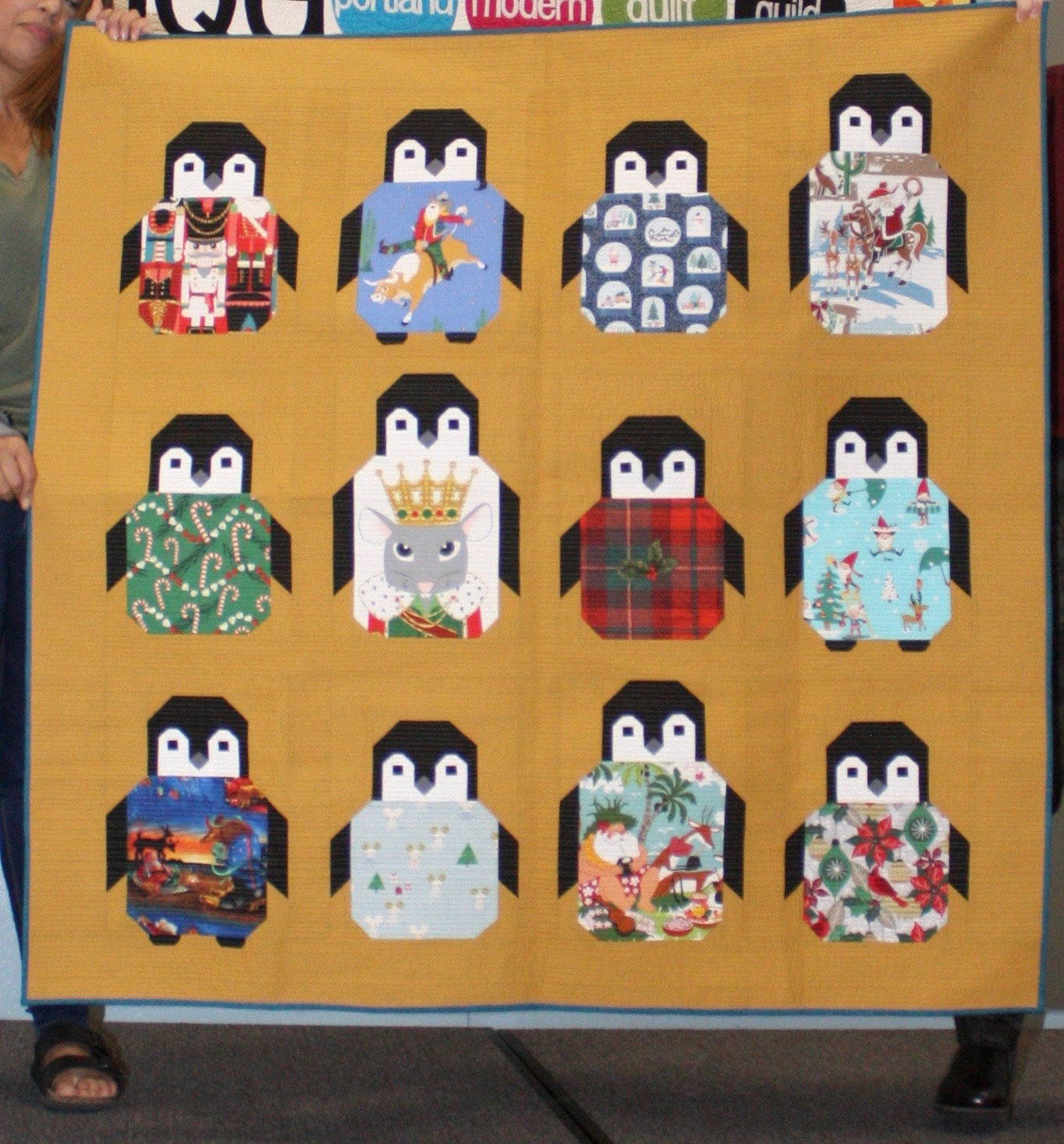 Penguin Party by Joyce Gieszler