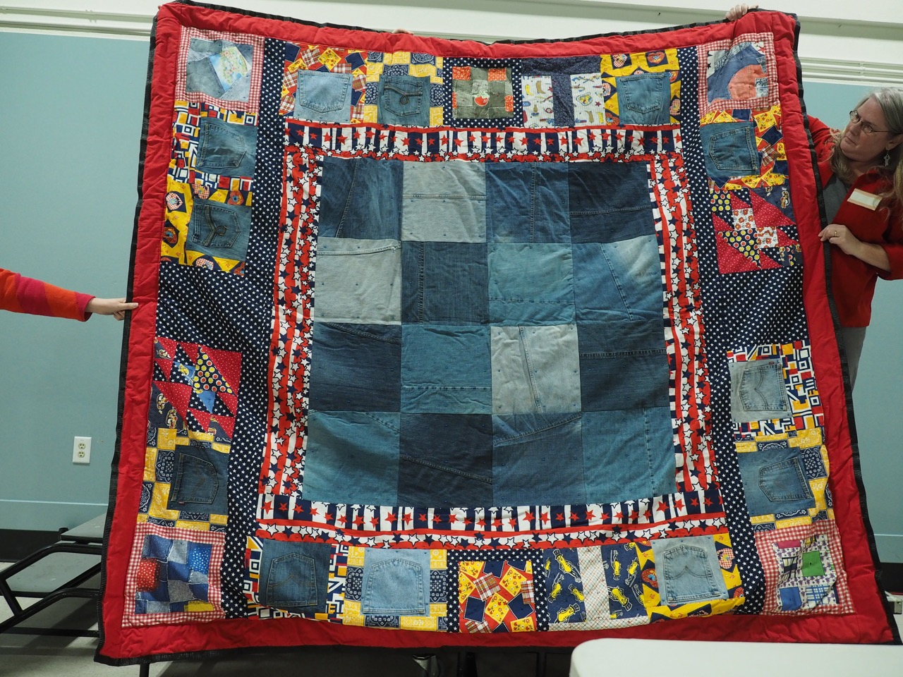 The Ultimate Bicentennial Picnic Quilt by Suzanne Twining